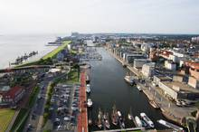View over the city of Bremerhaven