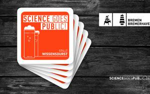 Plakat Science goes Public