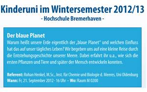 Flyer Kinder-Uni