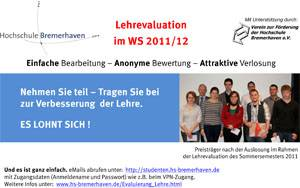 Poster: Lehrevaluation