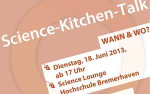 Plakat Science-Kitchen-Talk