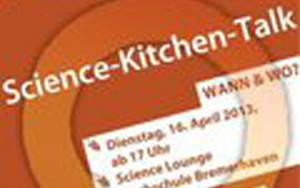 "Plakat ""Science-Kitchen-Talk"""