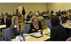 Business Speed Dating beim GUULGE Forum 2011