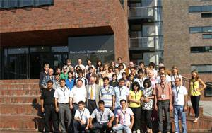 Teilnehmer der 7. Bremerhaven International Summer School