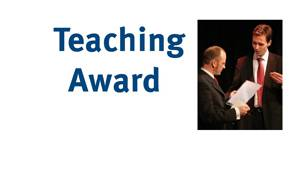 Teaching Award 2010