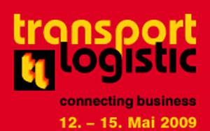 Logo der transport logistic 2009